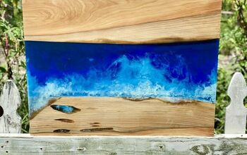How to Make Ocean Wave Art Using Resin and Wood