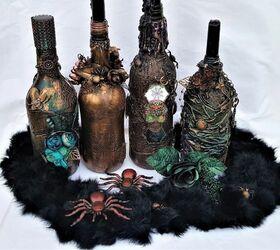 Mixed Halloween Wine Charms