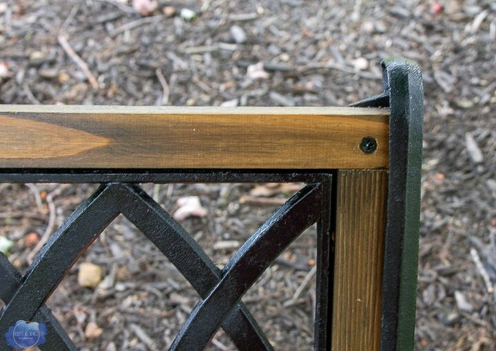 Miraculous How To Replace Garden Bench Wood Slats Diy Hometalk Ocoug Best Dining Table And Chair Ideas Images Ocougorg