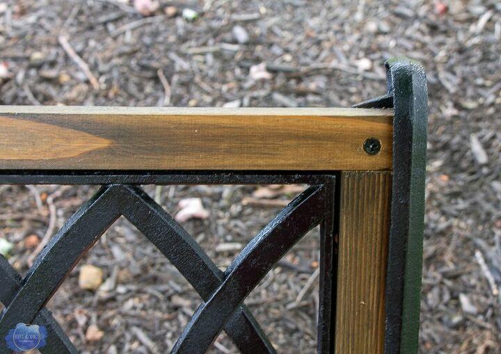 Surprising How To Replace Garden Bench Wood Slats Diy Hometalk Beatyapartments Chair Design Images Beatyapartmentscom