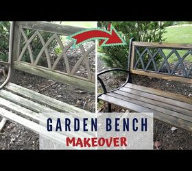 Astounding How To Replace Garden Bench Wood Slats Diy Hometalk Ocoug Best Dining Table And Chair Ideas Images Ocougorg