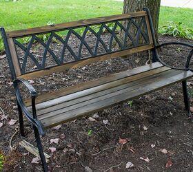Terrific How To Replace Garden Bench Wood Slats Diy Hometalk Alphanode Cool Chair Designs And Ideas Alphanodeonline