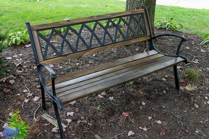 Superb How To Replace Garden Bench Wood Slats Diy Hometalk Ocoug Best Dining Table And Chair Ideas Images Ocougorg