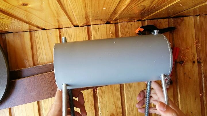 homemade clamp from pvc pipe