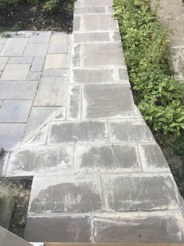 q bad outdoor grout on stone help