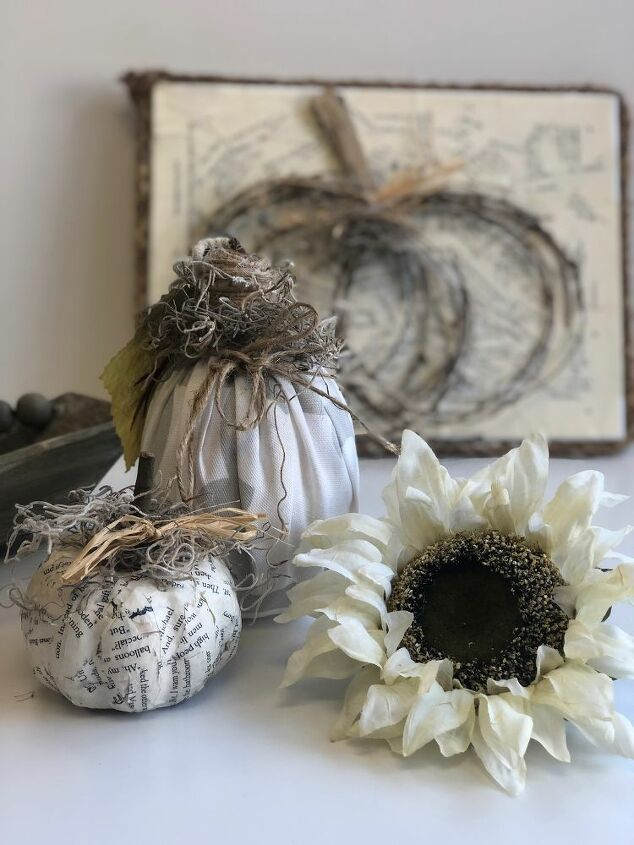 thrifty rustic fall decor diy