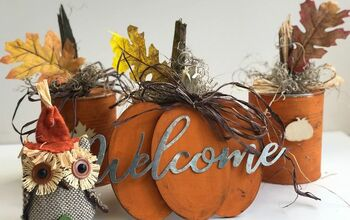Thrifty Rustic Fall Decor – DIY