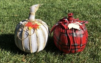 5 Plastic Pumpkin Bucket Makeovers