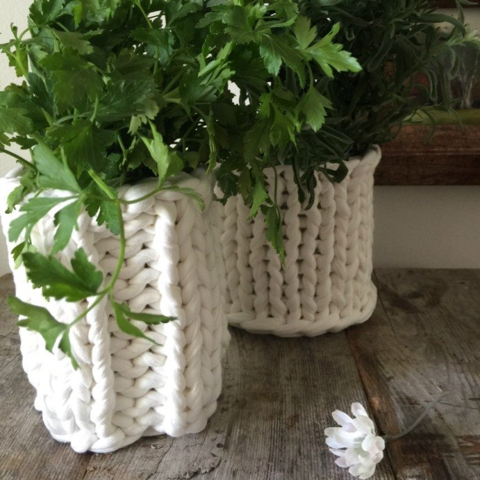 s 14 ways to make you home a cozy oasis, Sometimes your plants just need a sweater