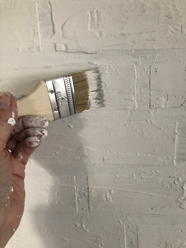 STEP 5: PAINT ENTIRE WALL