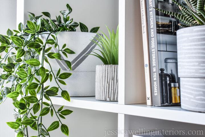 dollar store modern planters