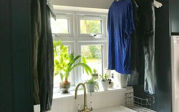 Create a Laundry Drying Area in Your Utility Room.
