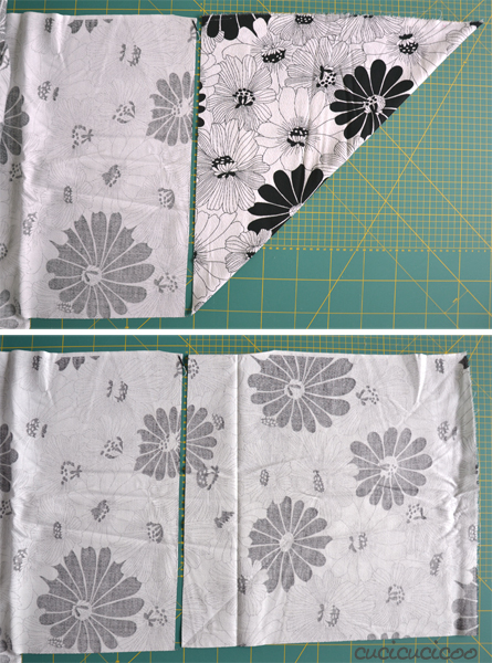 make easy japanese gift wrap from fabric