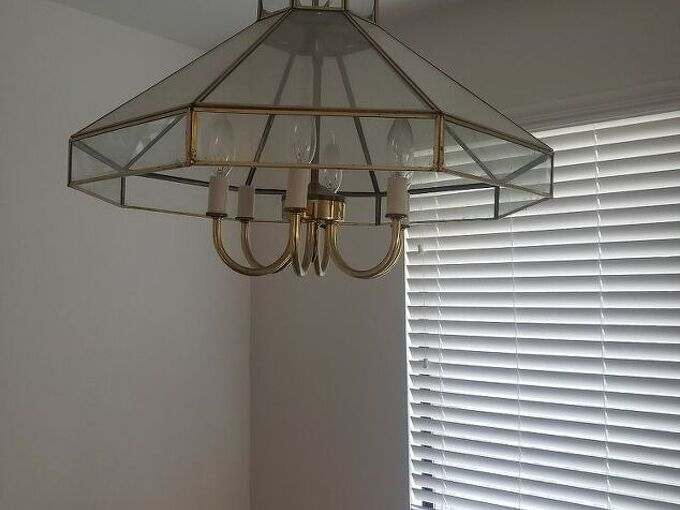 q how can i update this 1989 hanging light