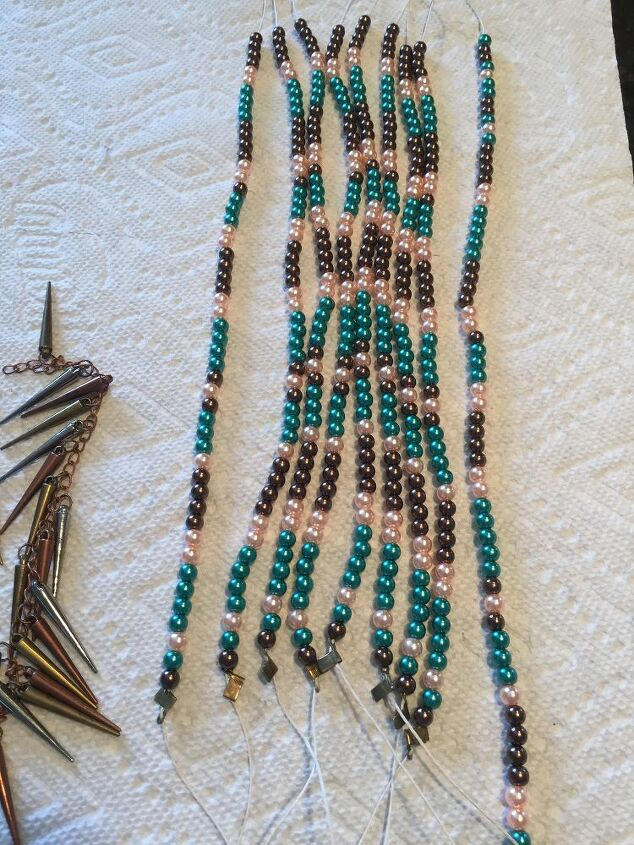 Finished string of beads