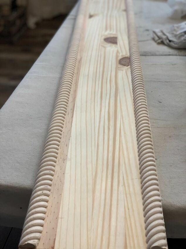 My knotty wood panel