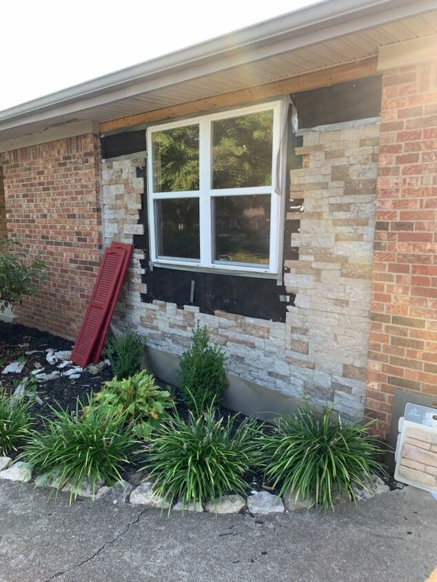 q what to do about garage conversion exterior