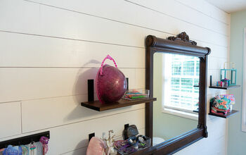 Create a Simple Faux Shiplap Accent Wall