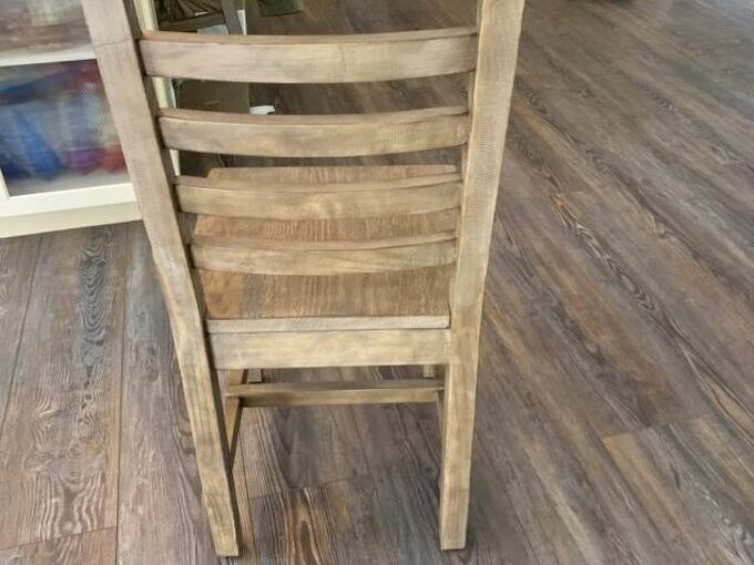 q i want to turn my regular height dining chair into a pub height chair