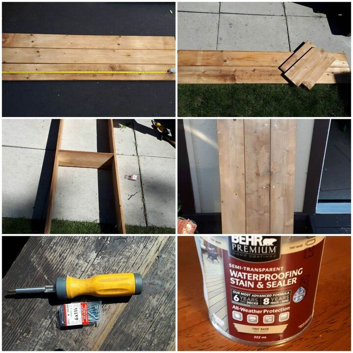 how to make a bench from an old metal bed