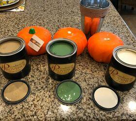 How To Make A Dollar Store Pumpkin Topiary Diy Hometalk