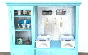Thrift Store Cabinet Makeover - You Won't Believe What I Paid!