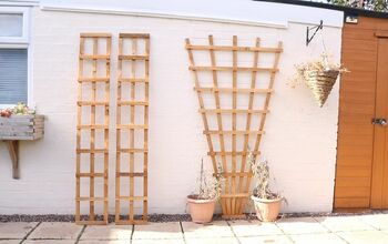 How To Make Fan Wooden Trellis