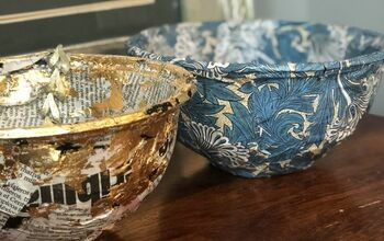 How to Upcycle a Takeaway Container Into a Decorative Trinket Bowl
