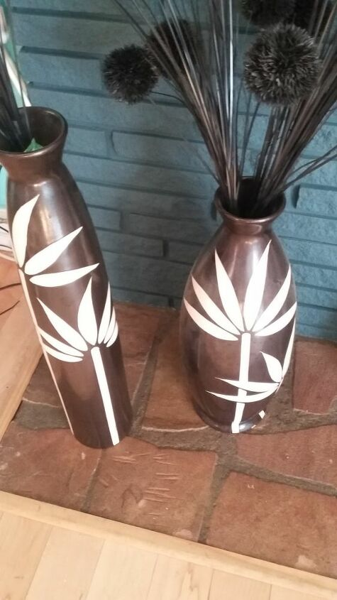 q re doing painted vases