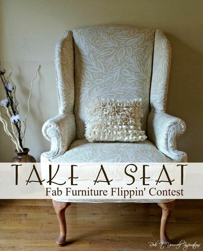 upholstered living room chair