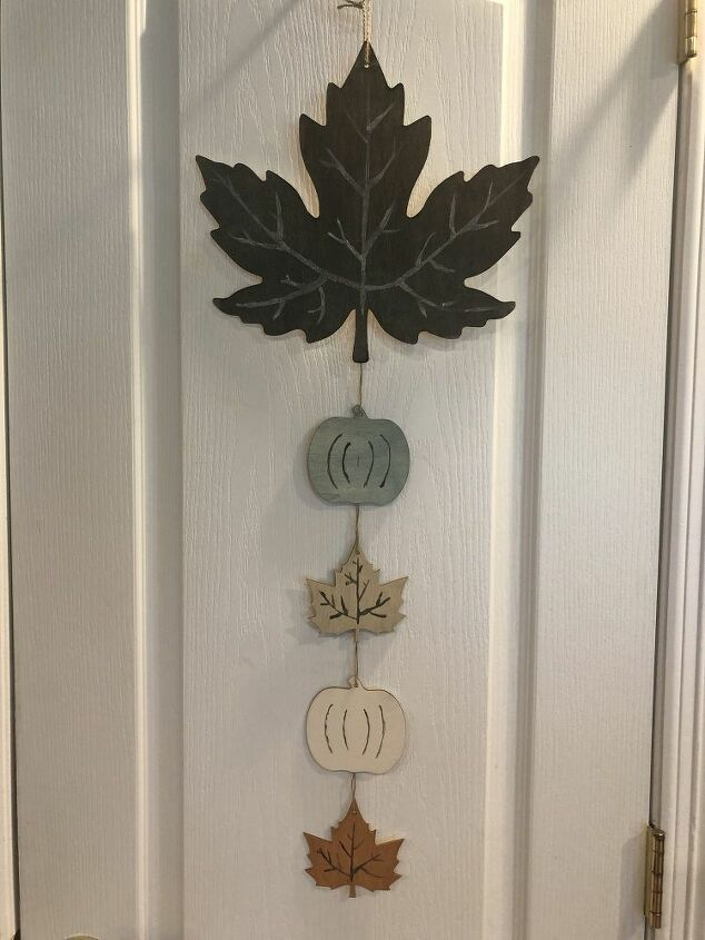 easy dollar store fall upcycle