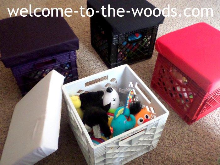 s storage ideas, 3 Seated Toy Storage Ideas