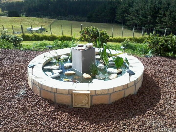 s outdoor pond, 5 From Old Spa Pool to New Fish Pond