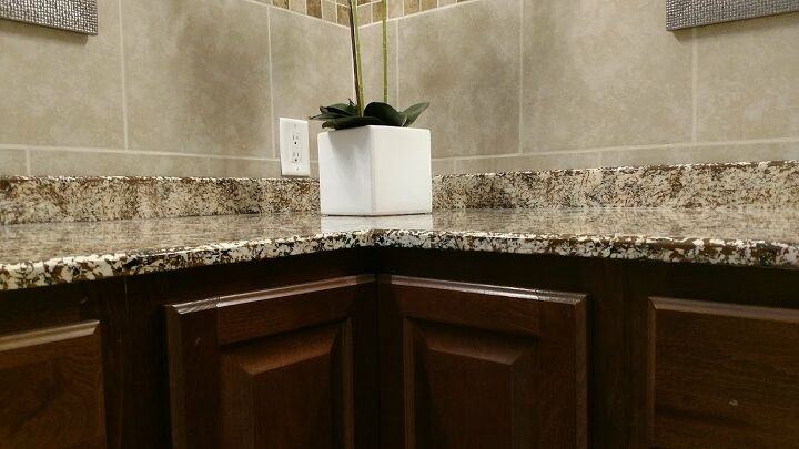 Faux Granite Bathroom Countertop