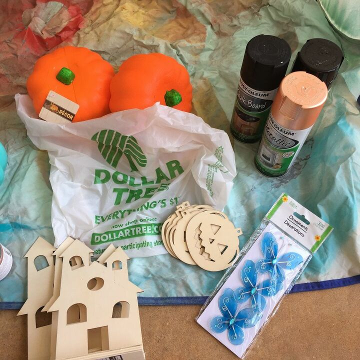 3 dollar store halloween projects