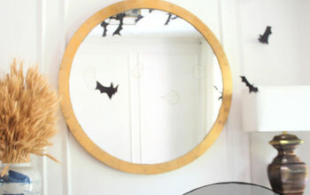 DIY Bat Garland Halloween Decoration