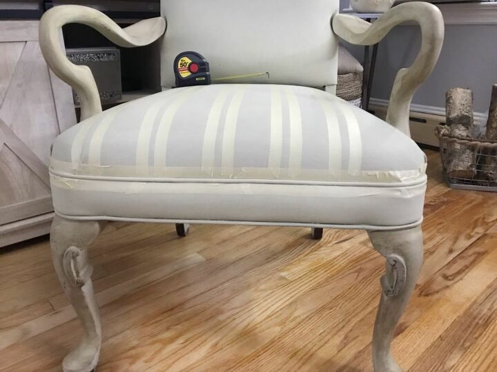 off brand chalk paint chair makeover