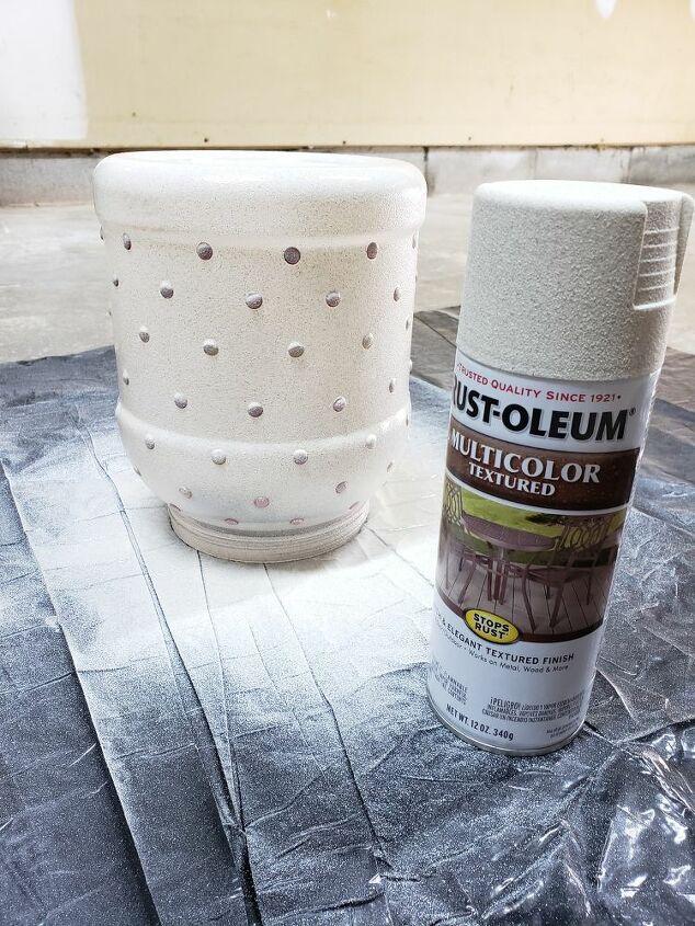 recycled plastic jar into vase