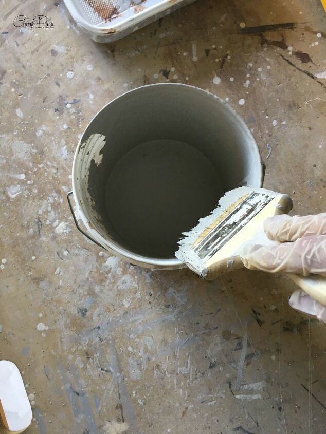 how to paint brushed faux suede walls