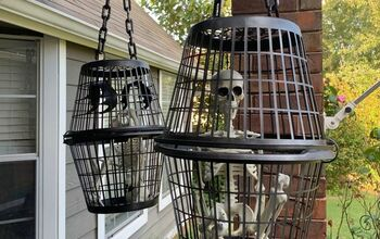 Simple Halloween Cage Props