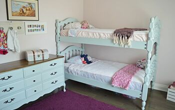How to Give an Old Spindle Bunk Bed New Life