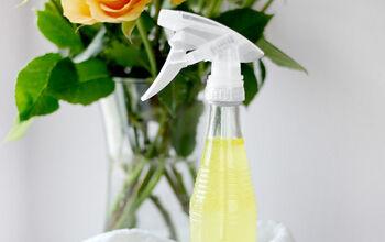 DIY Rose Petal Infused Cleaning Spray
