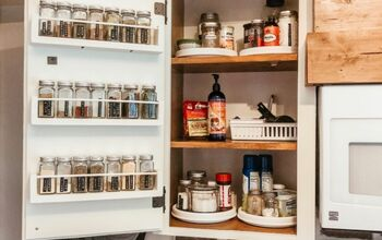 DIY Spice Shelves