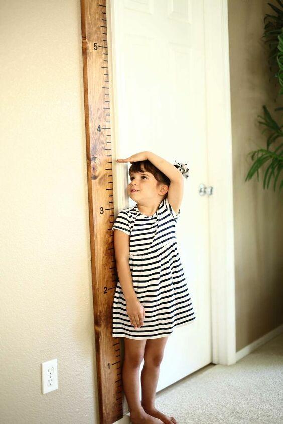 kids growth ruler
