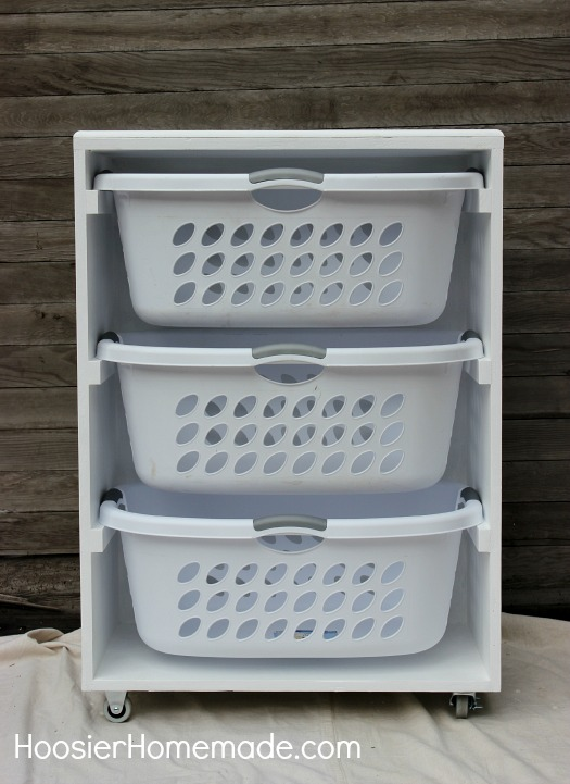 laundry room storage baskets