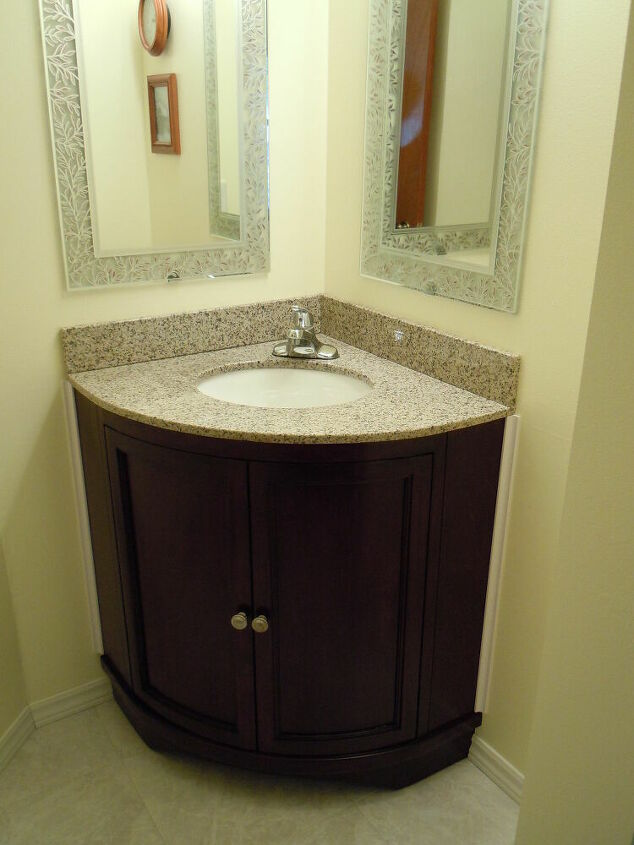 Corner Kitchen Sink Restyle
