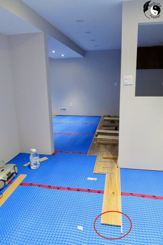 engineered hardwood floor basement installation