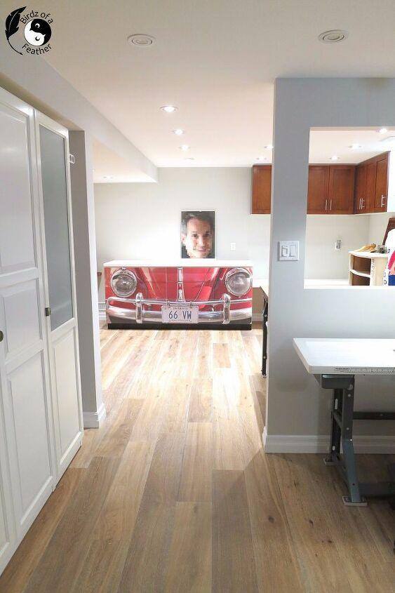 engineered hardwood floor basement installation