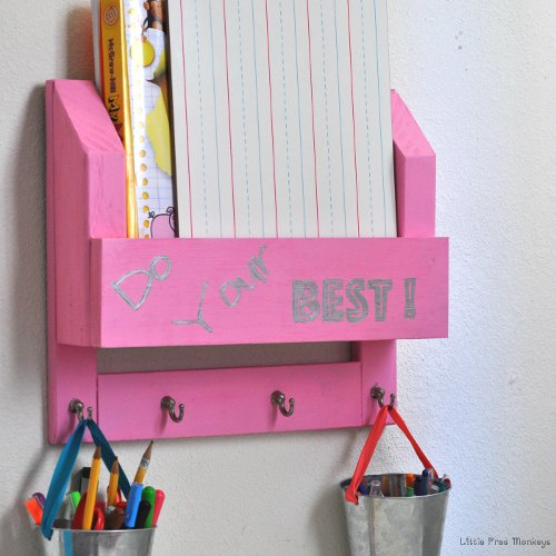 desk paper organizer