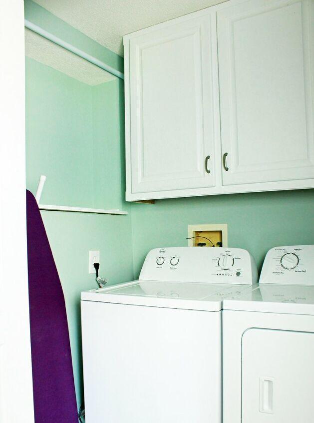 s laundry room closet, 2 Making the Laundry Room Closet Feel Bigger
